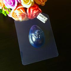 Пластиковая форма для шоколада пас. ЯЙЦО МАЛЕНЬКОЕ  с АНГЕЛОМ 65х45мм.