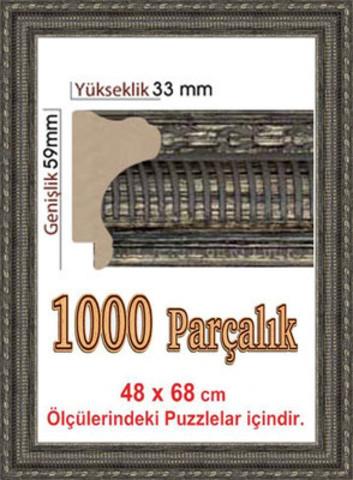 Pazl çərçivəsi  (68 x 48 cm.) 4917