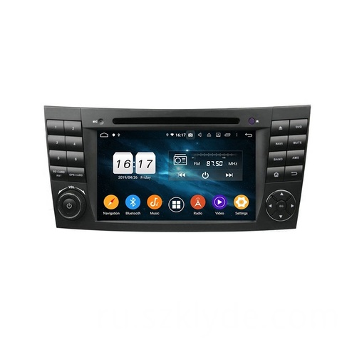 Магнитола Mercedes E-класс  W211/S211 2002-2009, CLS W219 2004-2010 Android 9.1 IPS DSP модель KD 7010PX5