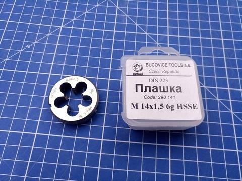 Плашка Bucovice DIN EN22568 6g HSSE-Co5 MF14x1,5мм 38x10 S5 290141
