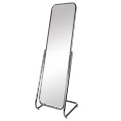 Зеркало напольное 5МS-03 (хром) 350х500x1600H мм, зеркальное полотно 1400х250 мм