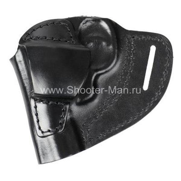 Кобура поясная для револьвера Taurus LOM-13 ( модель № 5 ) Стич Профи
