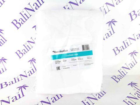 Салфетка спанлейс 15х20 см, 100 шт