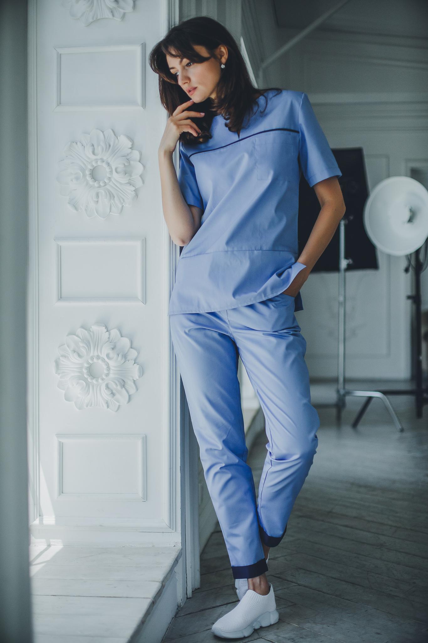 Брюки женские медицинские М 593