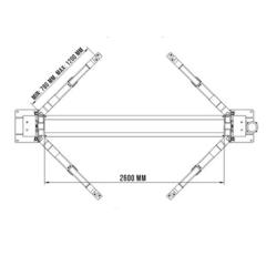 Двухстоечный подъемник System4you T4/K2