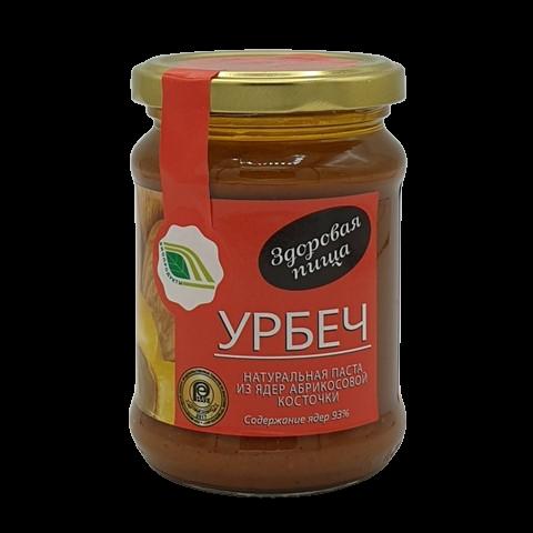 Урбеч натуральная паста из ядер абрикосовых косточек БИОПРОДУКТ, 280 гр