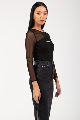 Боди MILANO DAY-TO-NIGHT ASYMM BODY Calvin Klein Jeans