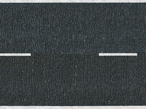 Шоссейная дорога, чёрная - 100 х 4,8 см, (H0)