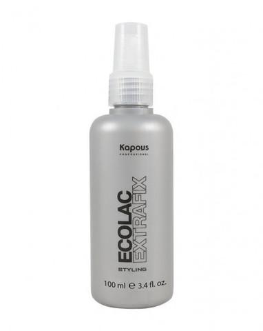 Лак для волос жидкий сверхсильной фиксации «Ecolac Extrafix», 100 мл
