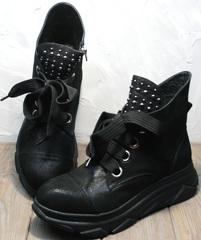 Ботинки женские осень весна Rifellini Rovigo 525 Black.