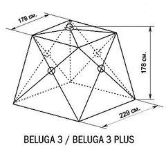 Зимняя палатка куб Canadian Camper Beluga 3