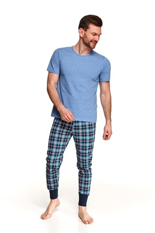 Пижама мужская со штанами TARO 2519 SS21 GRZEGORZ