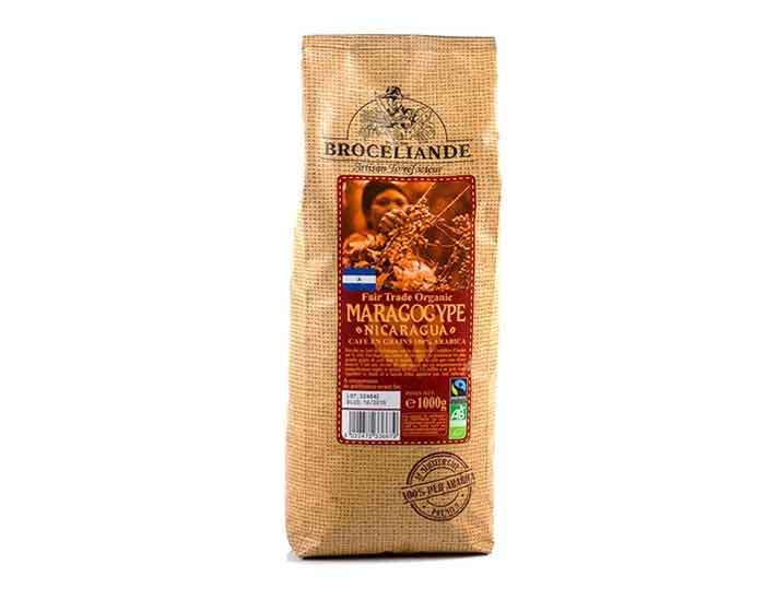 Кофе в зернах Broceliande Maragogype Nicaragua, 1 кг