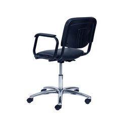 Парикмахерское кресло Контакт  пневматика хром, пятилучье на подпятниках