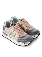 Текстильные кроссовки Premiata Conny 3617 на шнуровке