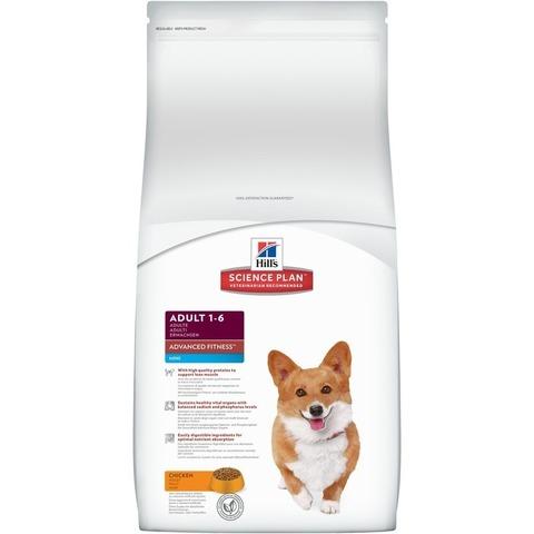 Hill's Science Plan  сухой корм для собак мелких пород, курицей Advanced Fitness