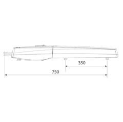 SWN25 Привод 24В линейный самоблокирующийся c энкодером серый (серия AXI) Came