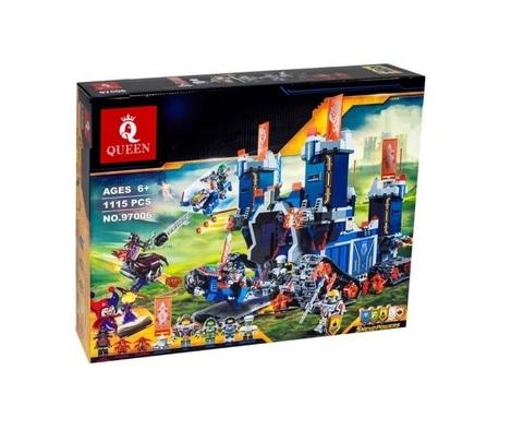 Конструктор Queen Nexu Knights 97006 (14006) Фортрекс – мобильная крепость