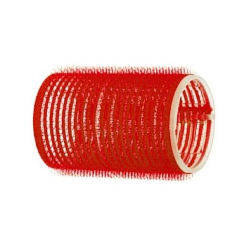 Бигуди 6 шт, диаметр 36 мм (пластик, липучка)