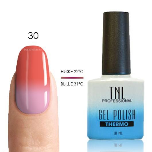 Термо TNL, Термо гель-лак № 30 - персиково-розовый/молочно-розовый, 10 мл 30.jpg