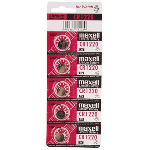 Батарейки Maxell CR 1220 5 BL