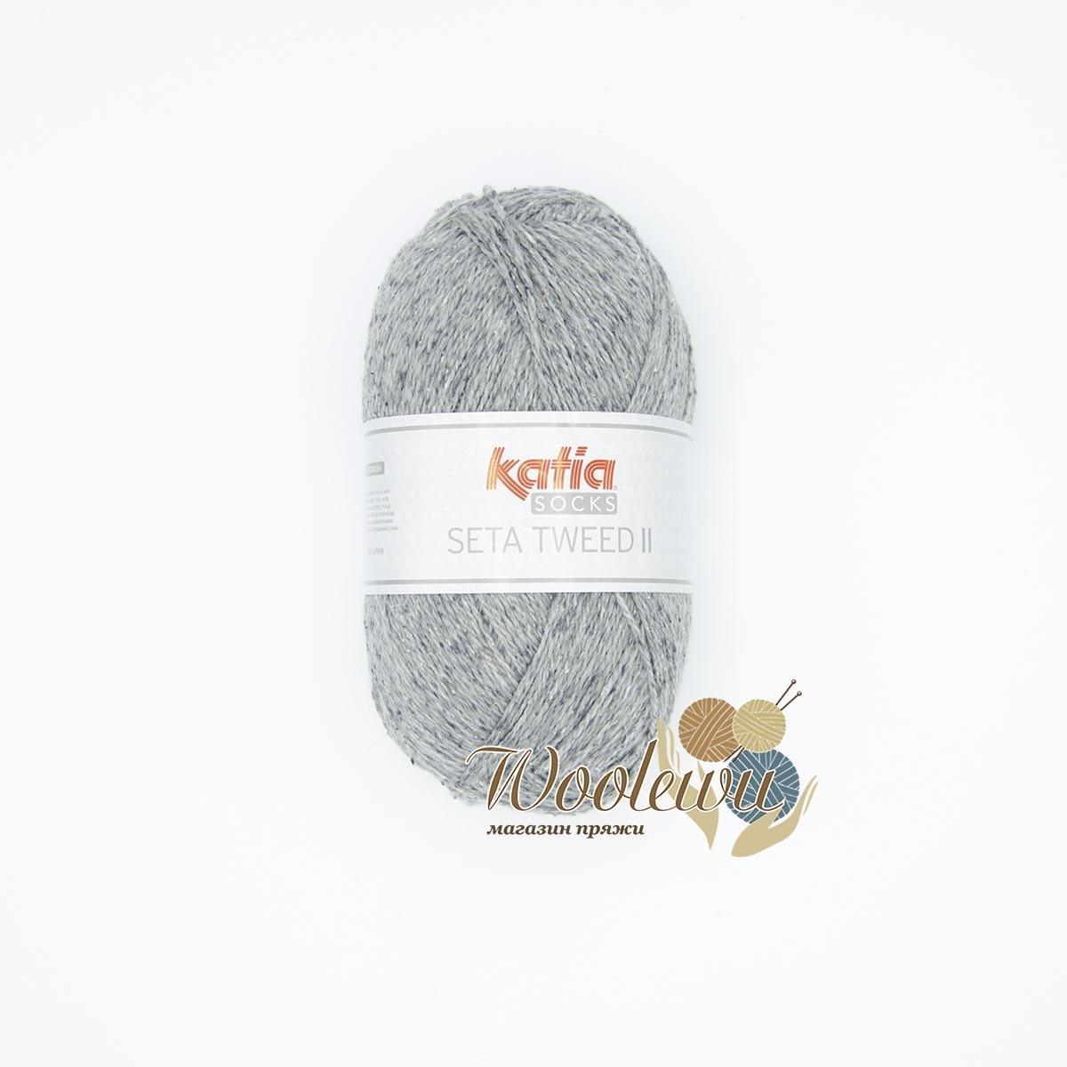 Katia Seta Tweed II Socks - 84