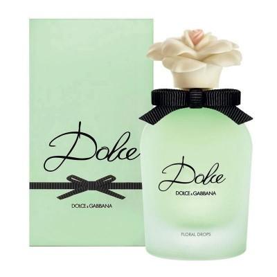 DOLCE & GABBANA: Dolce Floral Drops женская туалетная вода edt, 30мл