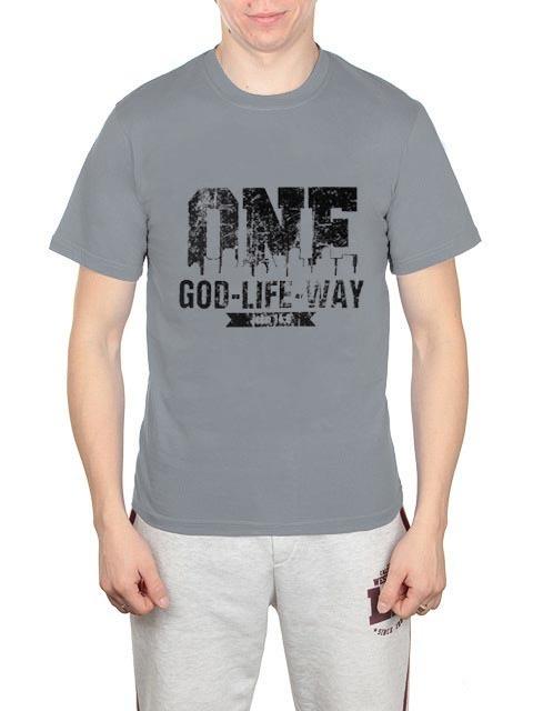 461493-40 футболка мужская, серая
