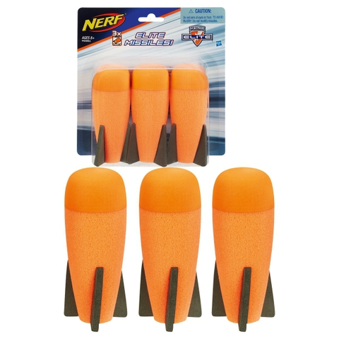 Nerf: Комплект из 3 ракет Элит A8951