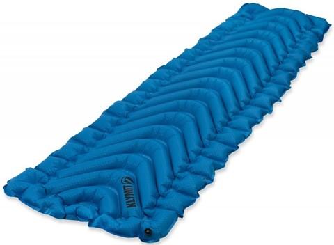 Надувной коврик Klymit V Ultralite SL, голубой