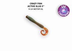 Силикон CRAZY FISH ACTIVE SLUG 3
