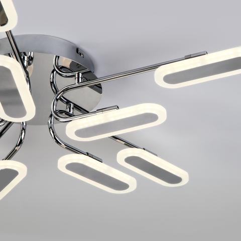 Потолочный светодиодный светильник 90148/10 хром