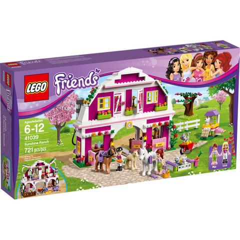LEGO Friends: Ранчо Саншайн 41039 — Sunshine Ranch — Лего Френдз Друзья Подружки
