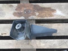 Оригинальный Б/У воздуховод на бампер MAN TGS/МАН ТГС на правую сторону  Оригинальные номера MAN - 81416140048  Производитель - МАН