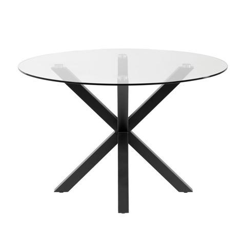 Круглый стол Arya 119 стекло