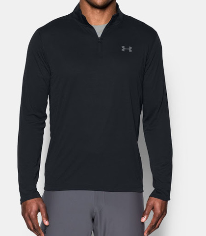 Футболка для бега Under Armour Threadborne 1/4 Zip 1289600-001