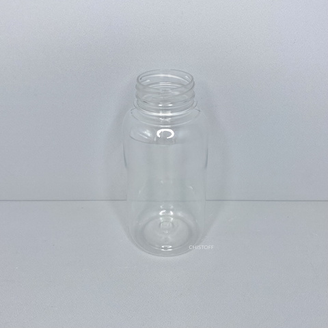 Бутылка 250 мл с широким горлом ø 38 мм прозрачная