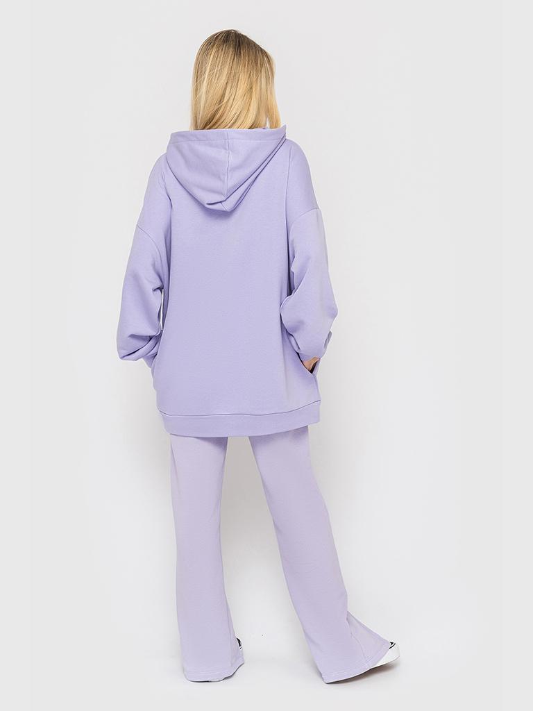 Костюм (брюки и худи) лиловый YOS от украинского бренда Your Own Style