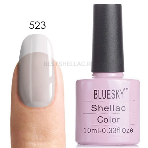 Bluesky Shellac 40501/80501 Гель-лак Bluesky № 40523/80523 Clearly Pink, 10 мл 523.jpg