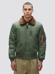 Куртка Alpha Industries B-15 Slim Fit Sage Green (Зеленая)