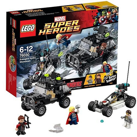 LEGO Super Heroes: Гидра против Мстителей 76030 — Avengers Hydra Showdown — Лего Супергерои Марвел