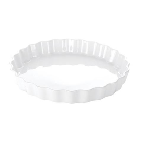 Круглая фарфоровая форма Tescoma GUSTO с волнистыми краями для запекания в духовке и сервировки, 29 см