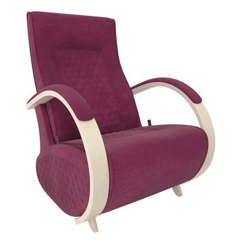 Кресло-глайдер Balance Balance-3 с накладками, дуб шампань/Verona Cyklam, 014.003