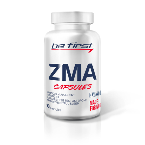 Be First ZMA + vitamin D3 90 капсул