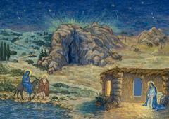 Адвентский календарь Елизаветы Сахаровой (30х40см)