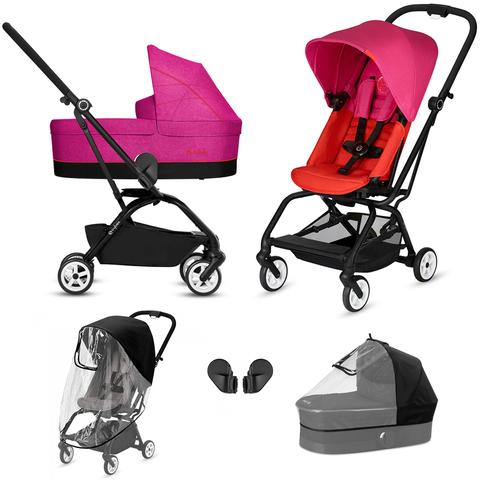 Комплект Cybex Eesy S Twist 5 в 1 Fancy Pink