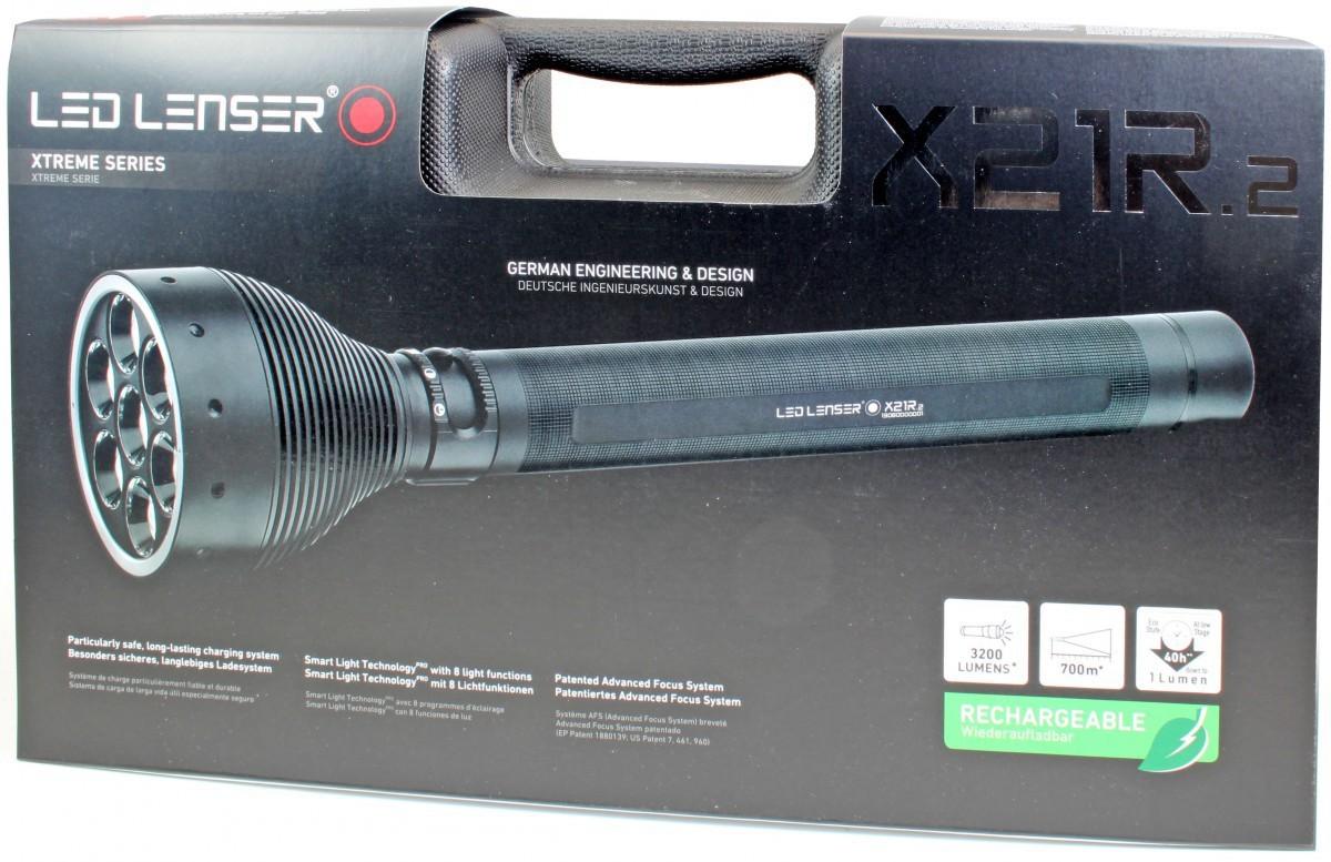 Фонарь светодиодный LED LENSER X21R.2