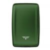 Кошелек c защитой Tru Virtu Oyster 2, зеленый, 110x69x28 мм