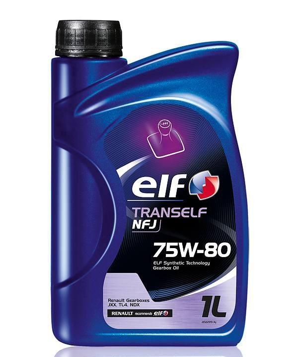 Elf Tranself NFJ 75W-80 - Трансмиссионное масло для МКПП