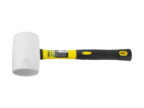 STAYER  900г Белая резиновая киянка с фиберглассовой рукояткой